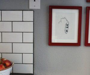 如何为厨房背板安装或修理干墙