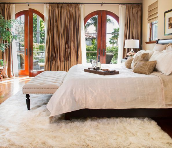 Real or faux bedroom design