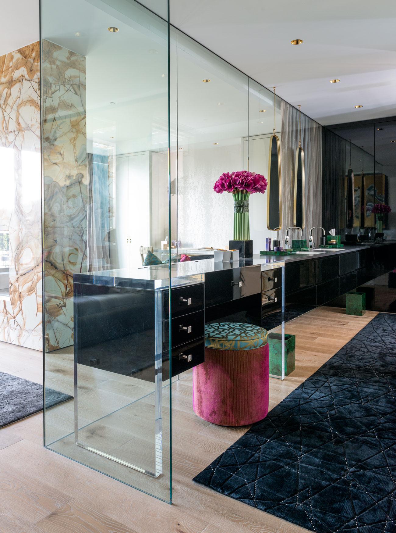 Redpath residence bathroom spaciousness