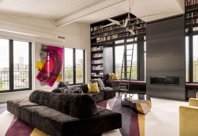 Exuberant Residence Mixes Three Apartments Into One