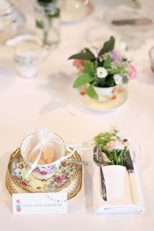 Relaxed country tea party wedding at South Farm