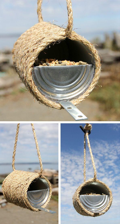Rope Bird feeder
