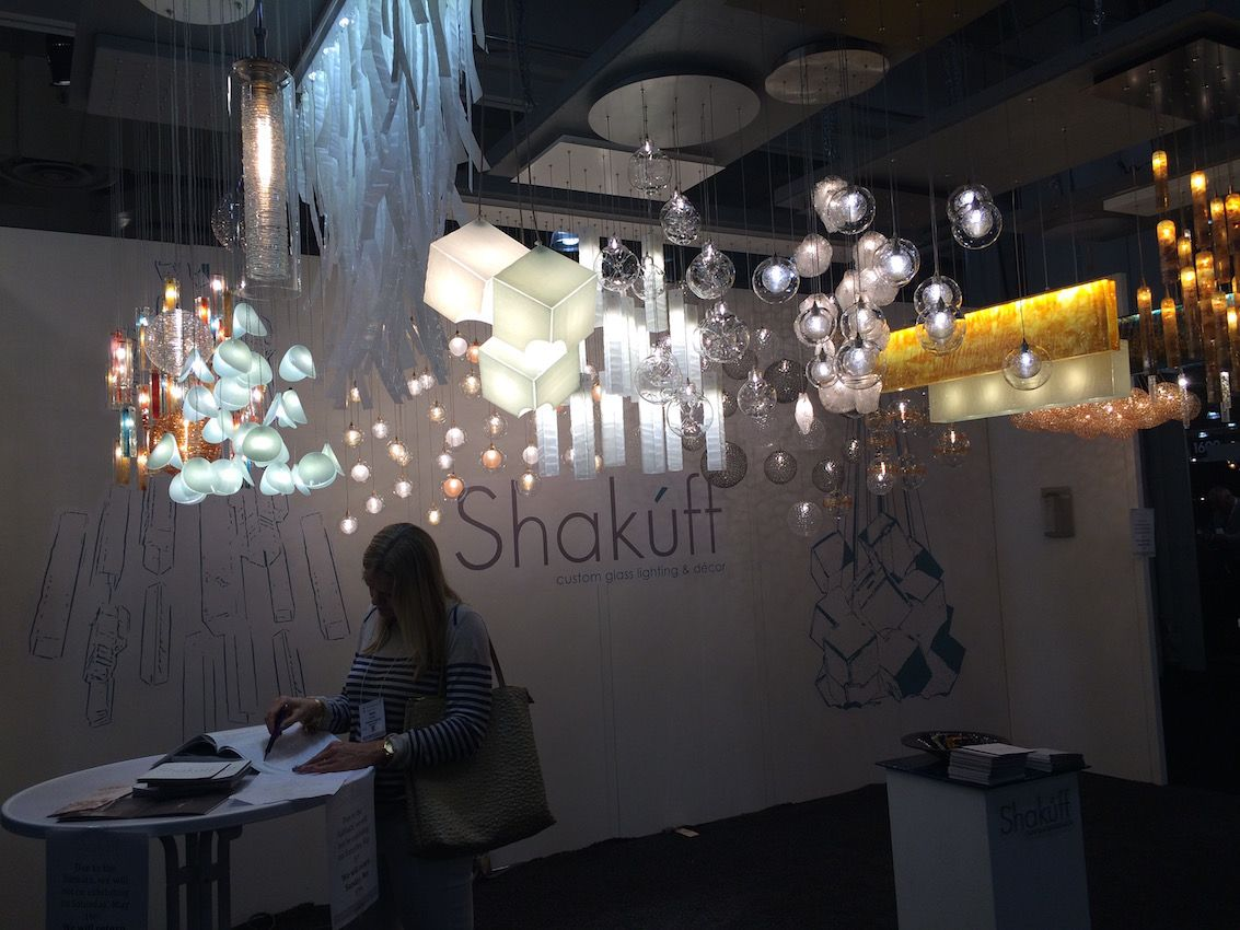Lighting fixtures bring current touch to living space artful and modern fused and blown glass fixtures from shakuff offer many modern lighting design arubaitofo Choice Image