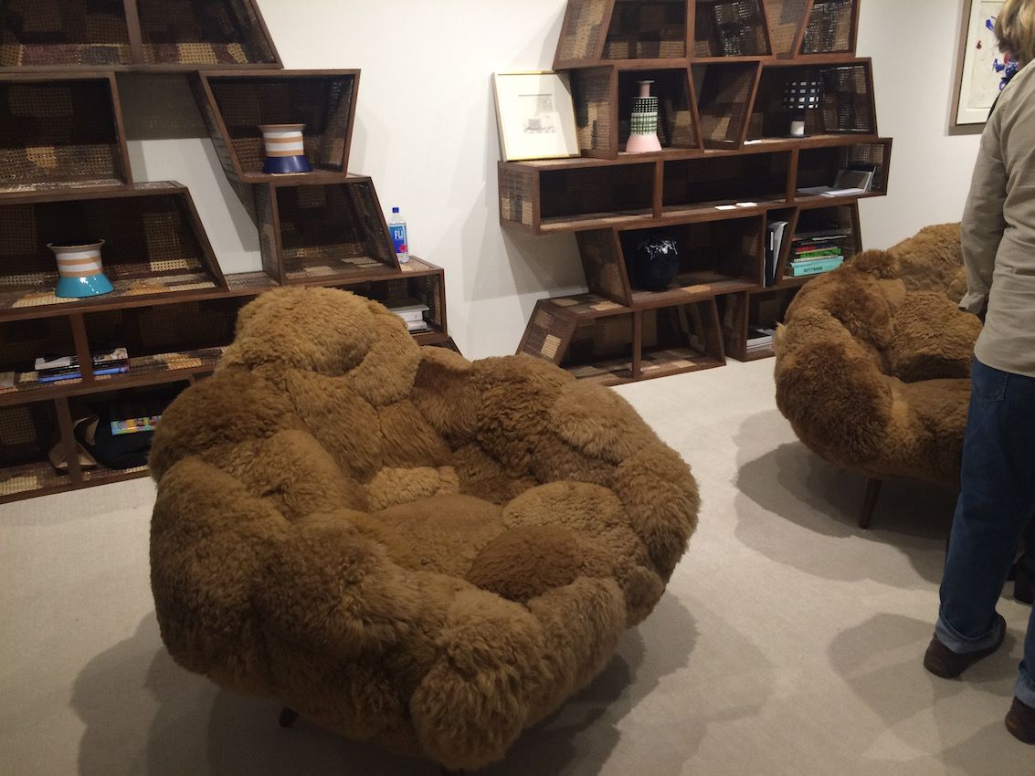 So soft and fluffy, you can;t help but want to sink into these chairs. The Campana brothers have also created a bolotas sofa in purple that is especially modern.