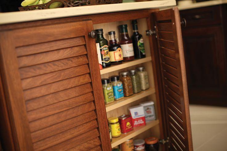 Spice rack shelf