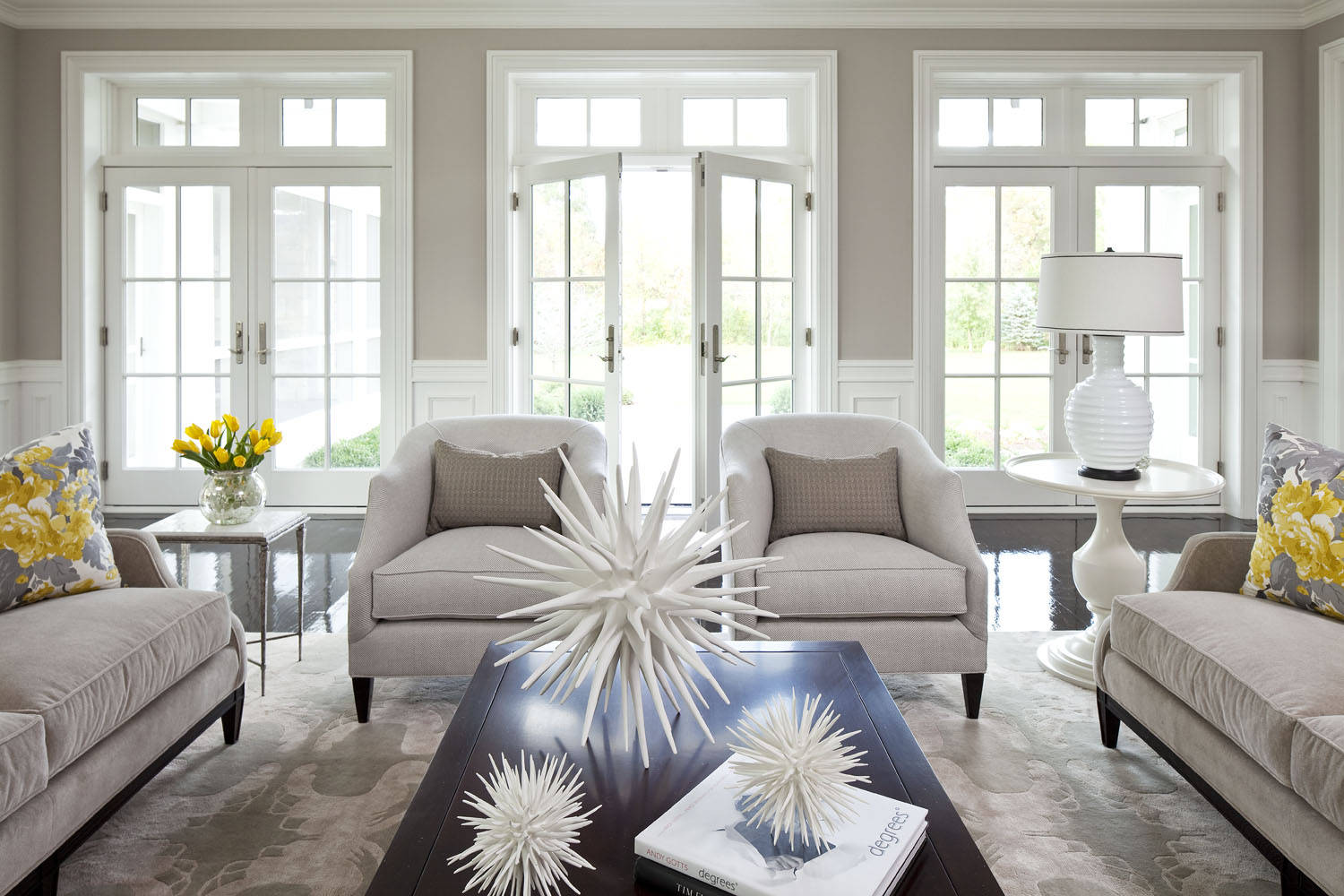 Using Taupe To Create A Stylish, Family Friendly Living Room
