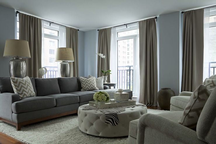 Taupe Living Room Decor