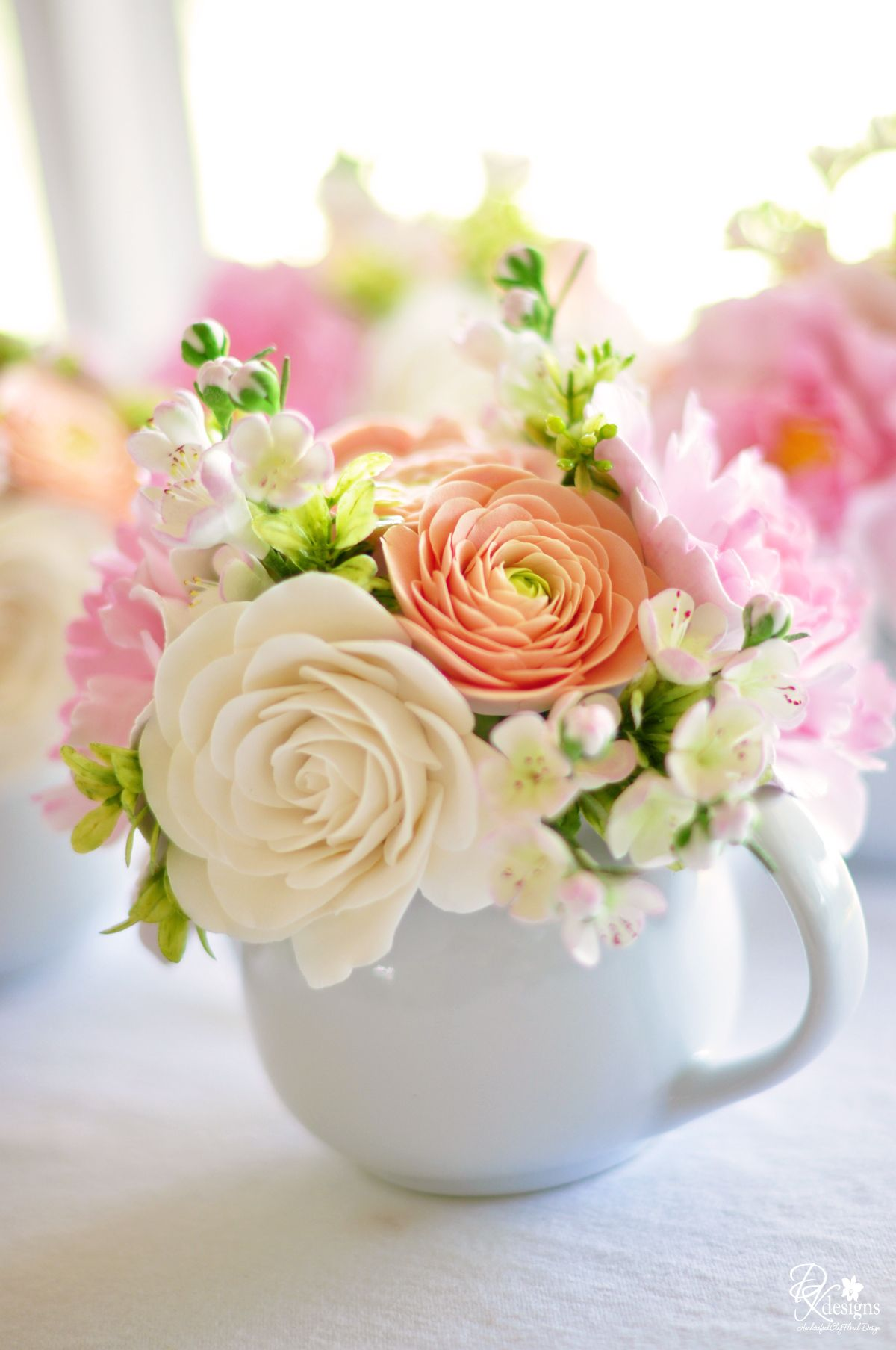 Simple Baby Shower Centerpieces | Martha Stewart