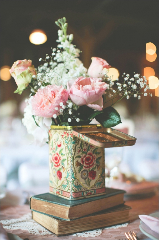 Charmant Tea Party Centerpiece Ideas For A Vintage Flavored Affair