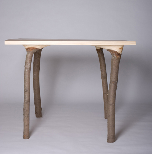 Tree table into your house