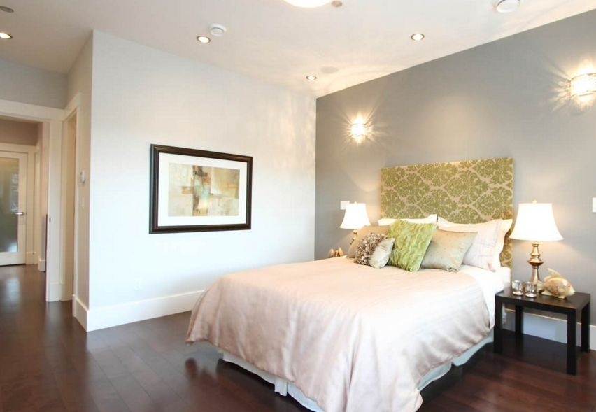 Turn any bedroom into a romantic getway with lights and paint
