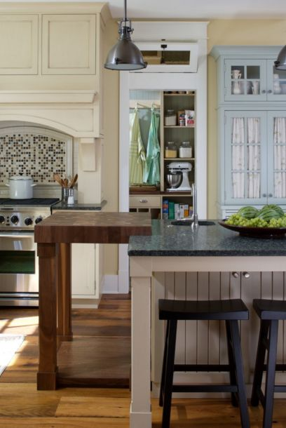 Kitchen Island Extension 20 examples of stylish butcher block countertops