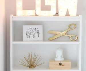 How To Light Up A Room's Décor With Marquee Letters