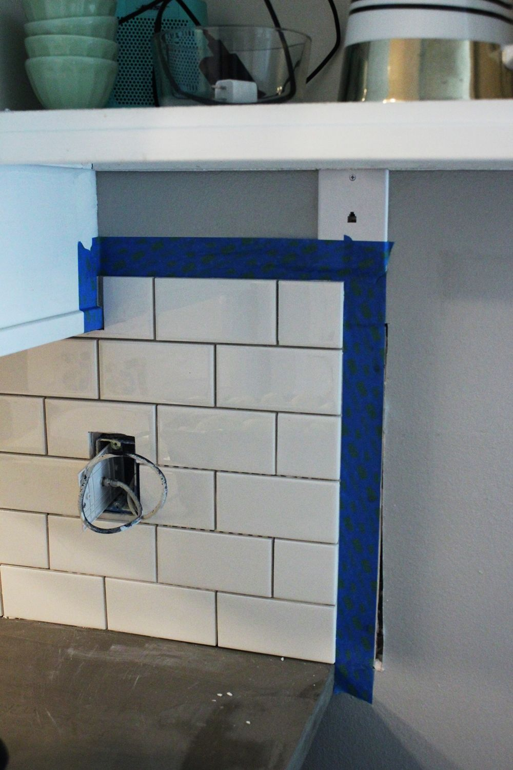 Kitchen Backsplash Edge how to install a subway tile kitchen backsplash