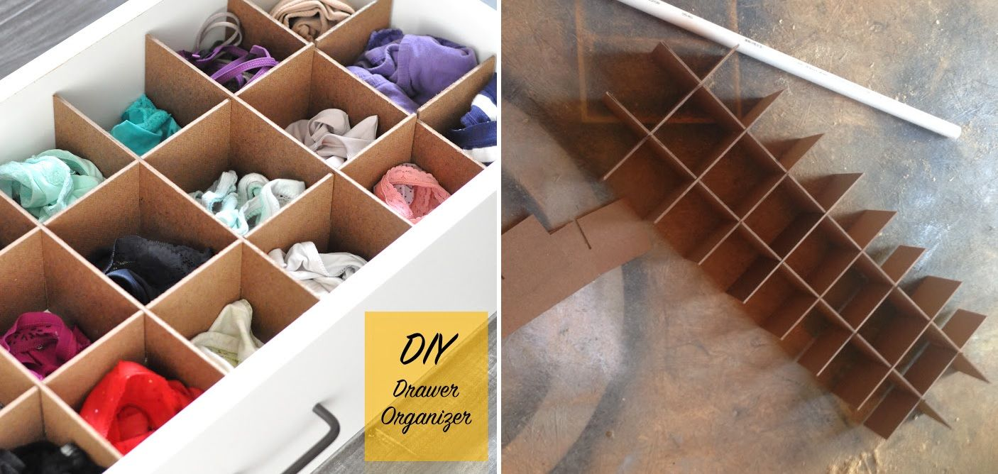 Underwear drawers - tips to organize