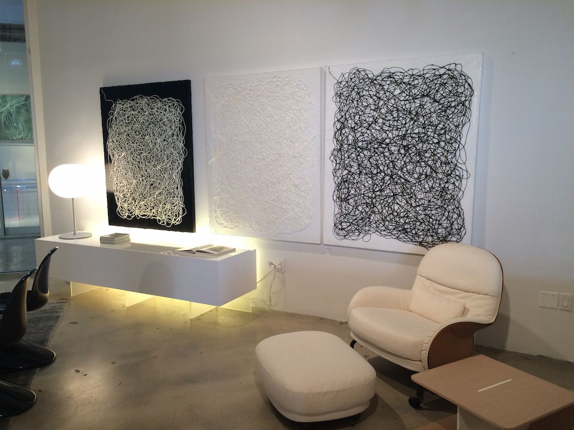 Vitra Corner with wall art