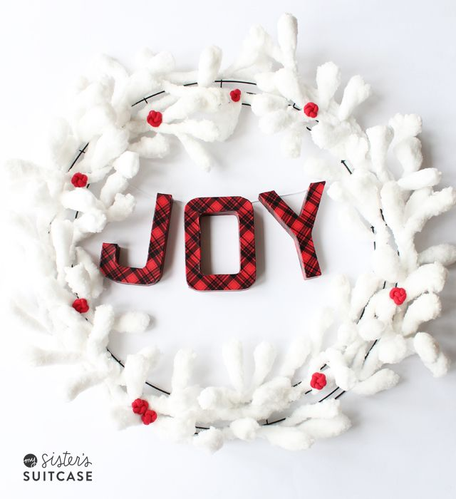 Winter Wood Joy Sign