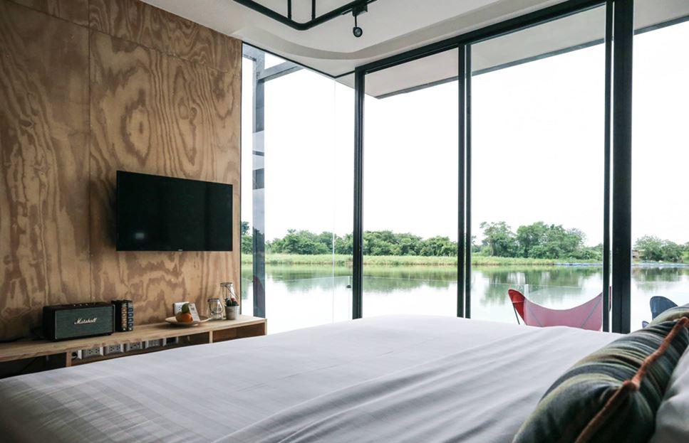 X-Float unit bedroom