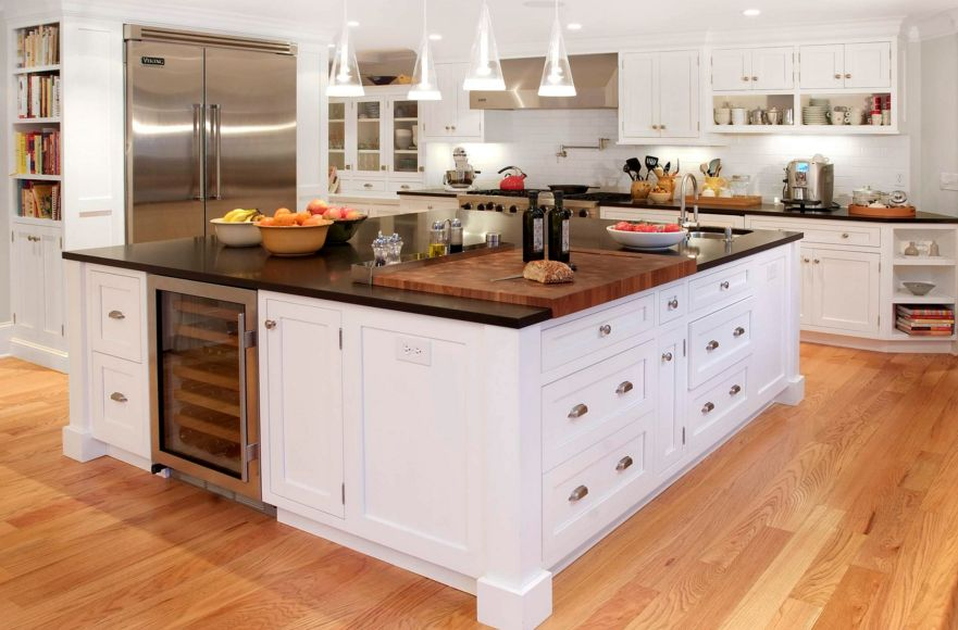 butcher block island pros and cons custom countertops cost classic cutting board countertop lowes canada