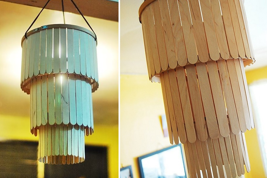 chandelier popsicle sticks