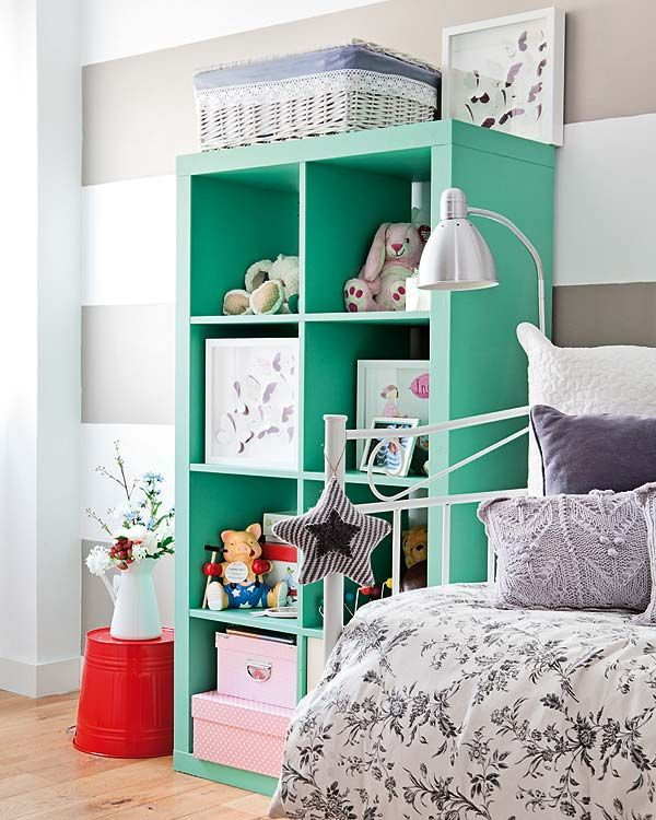 ikea expedit in turquoise shade