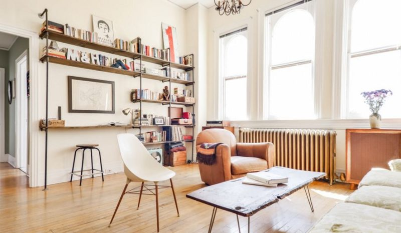 How To Select And Decorate With An Industrial Bookcase