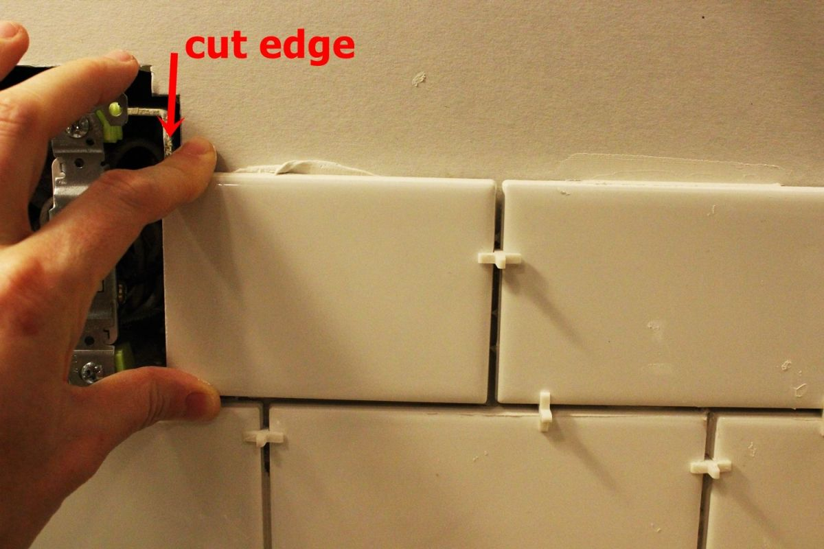 pay attention to the cut edge