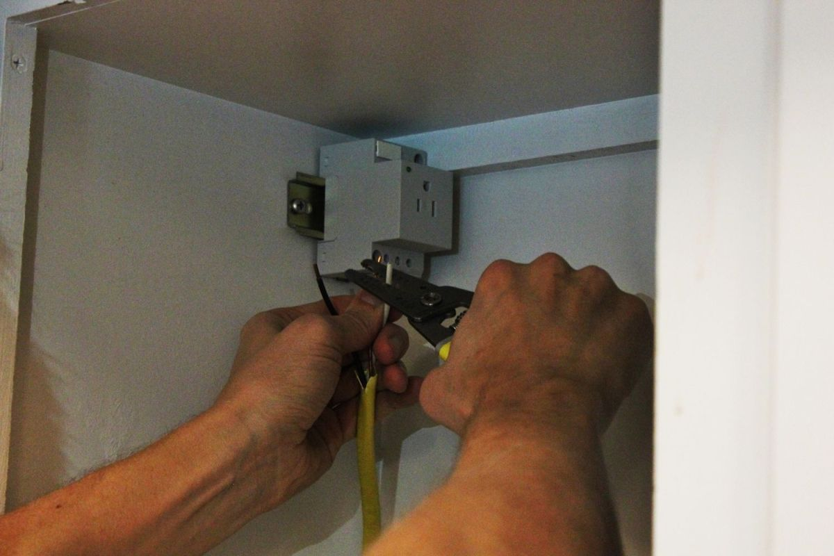 traditional electrical installation
