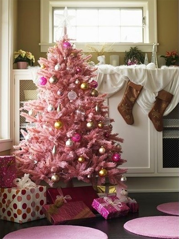 another pink christmas tree - Pink Christmas Trees