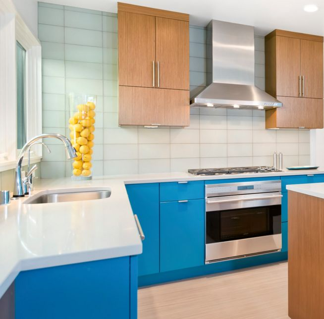 aquamarine kitchen color scheme - Contemporary Color Scheme