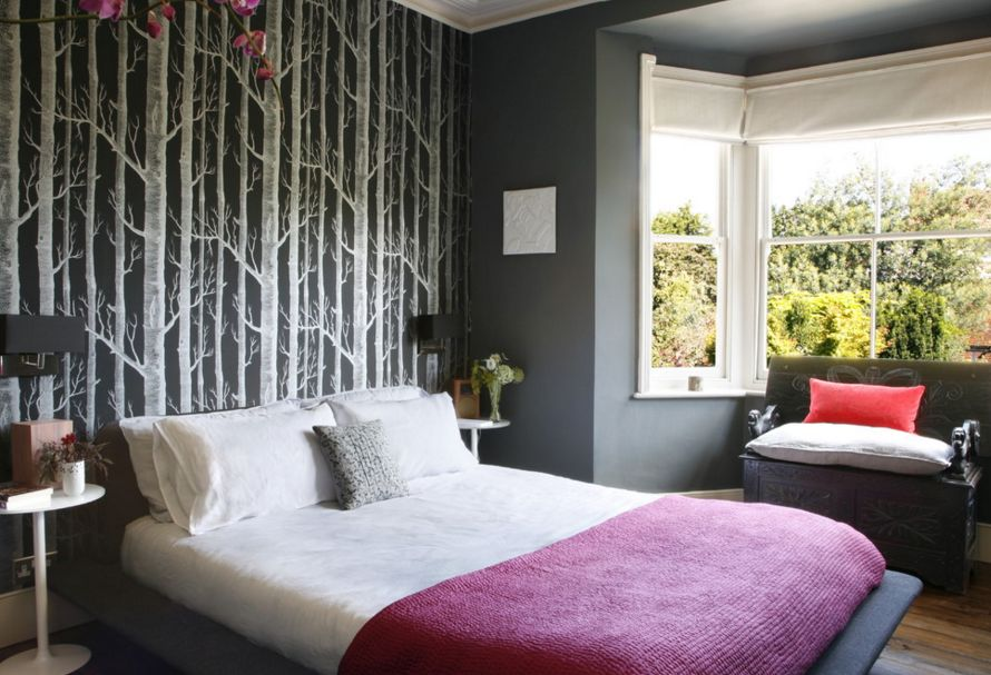 Charmant 20 Ways Bedroom Wallpaper Can Transform The Space