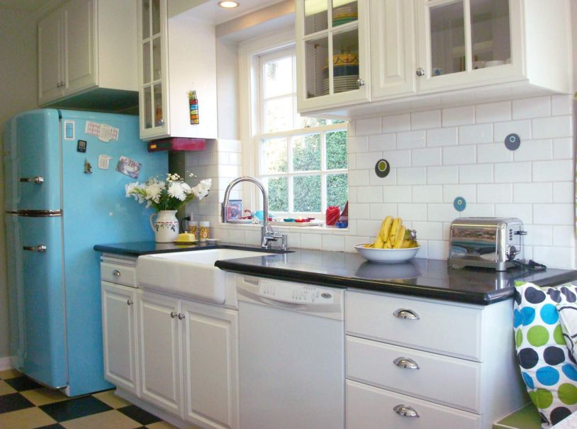 Beautiful Retro Kitchen Ideas Set