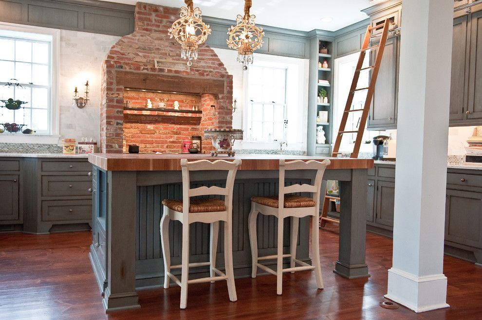 Brick Accents For Kitchen