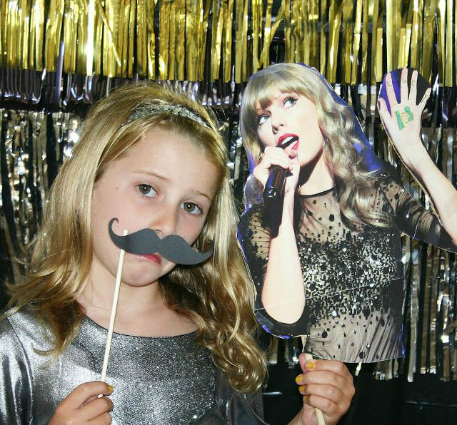 Celebrity photo booth props