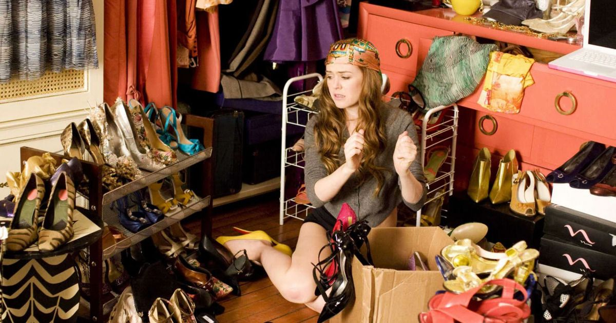 Cleaning and organize the entire closet