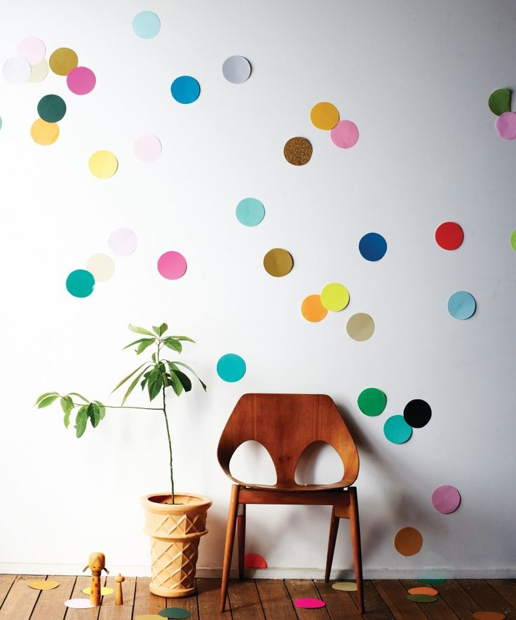Confetti wall photo booth
