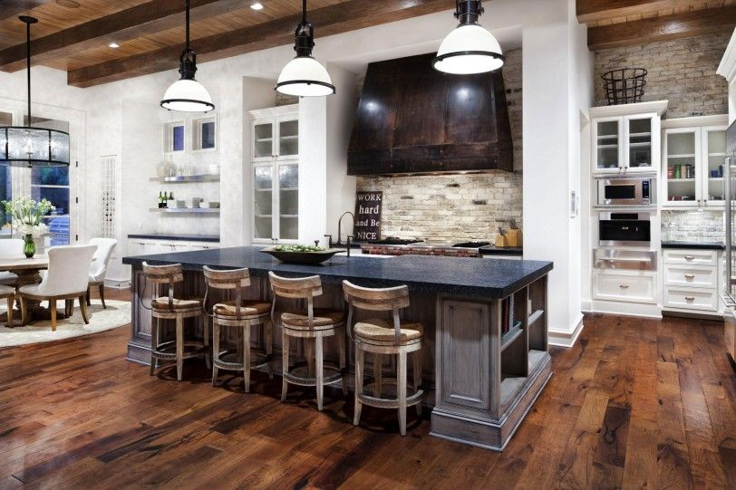 Home Interior Design Kitchen Property Impressive How To Blend Modern And Country Styles Within Your Home's Decor Review