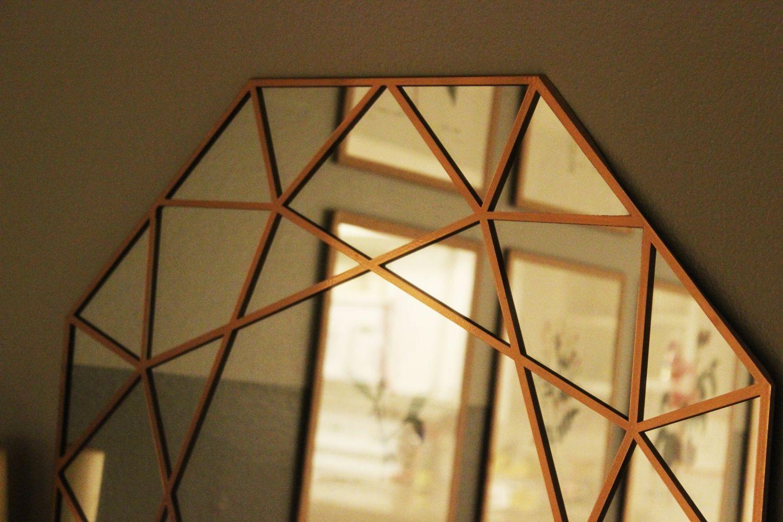DIY Gem Mirror Closer Look