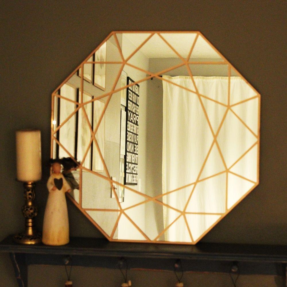 DIY Gem Mirror Project