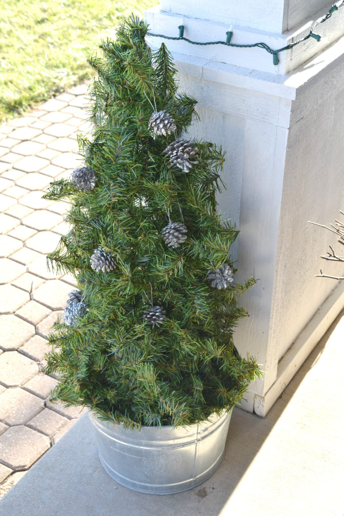 Diy Christmas Tree For Outside