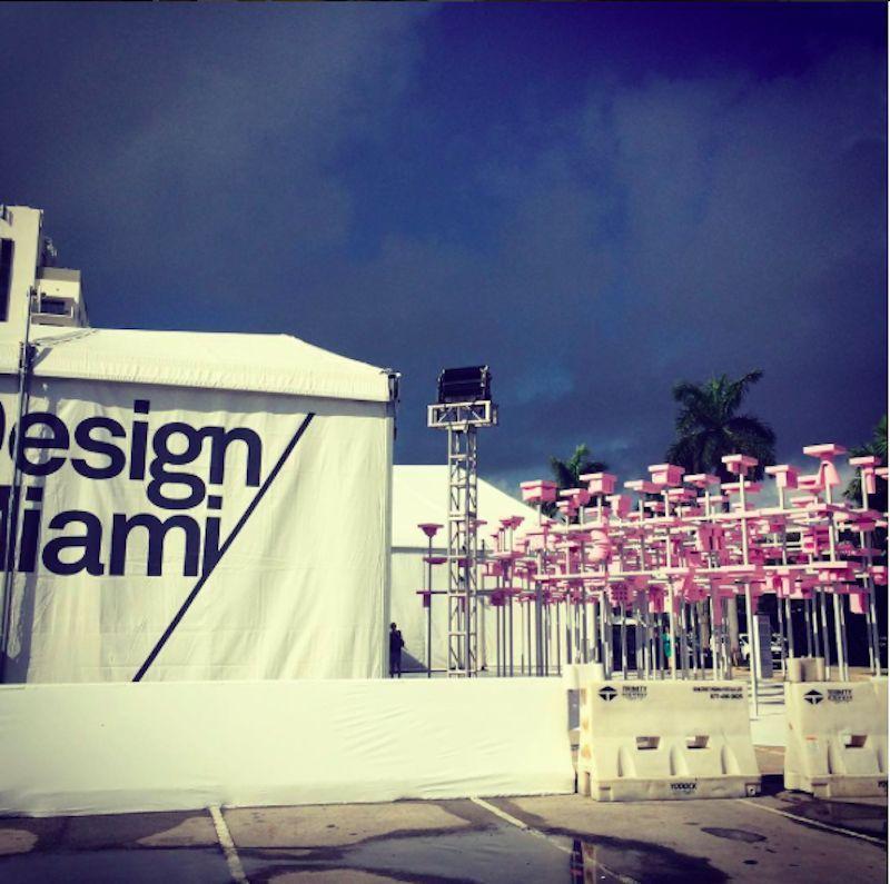 Design Miami 2015 tent