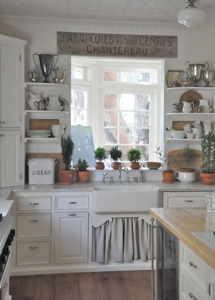 country farm kitchen decor farmhouse sink style home decorating trends homedit 5965