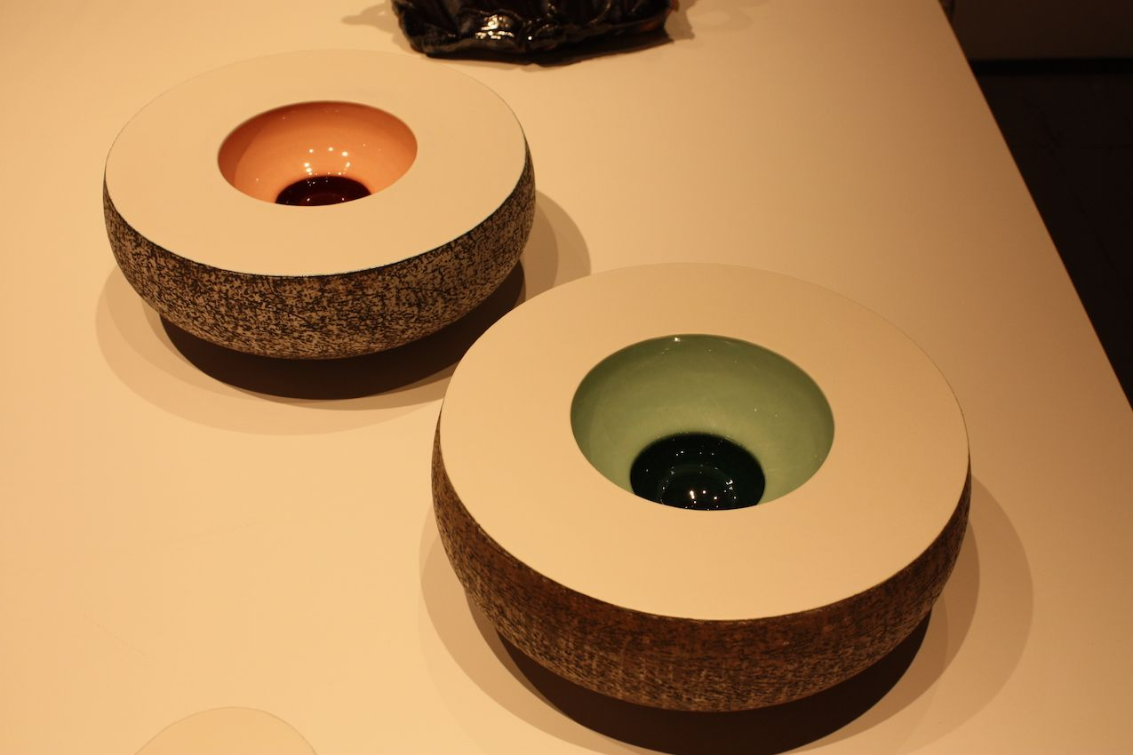 Modern Bowls Painted inside