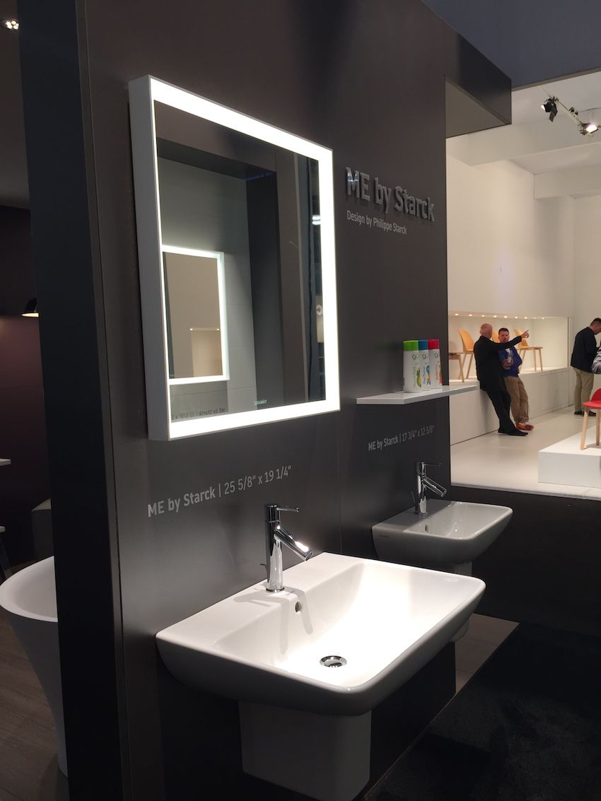 Philippe Starck created these fixtures for Duravit, with whom he has had a history of collaboration.