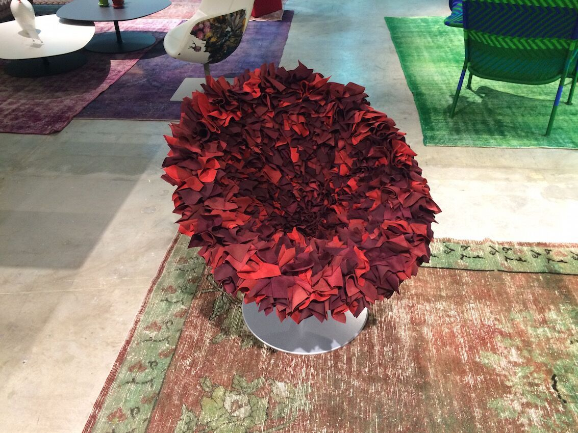 Magenta - Moroso Bouquet chair