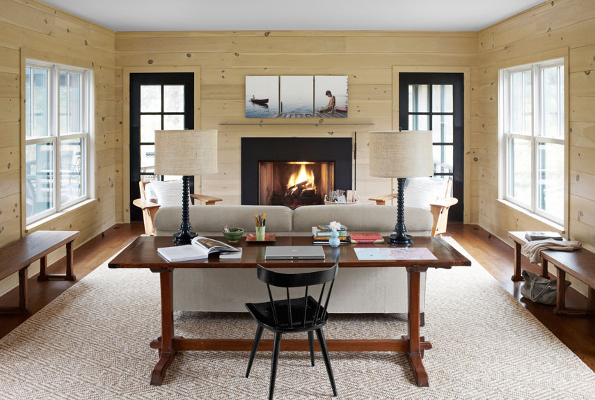How to blend modern and country styles within your home 39 s - Decorating living room country style ...