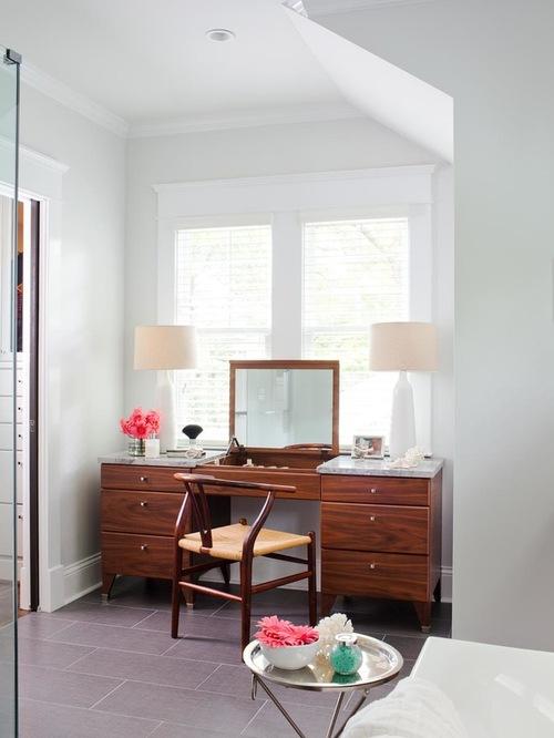Mid-century vanity