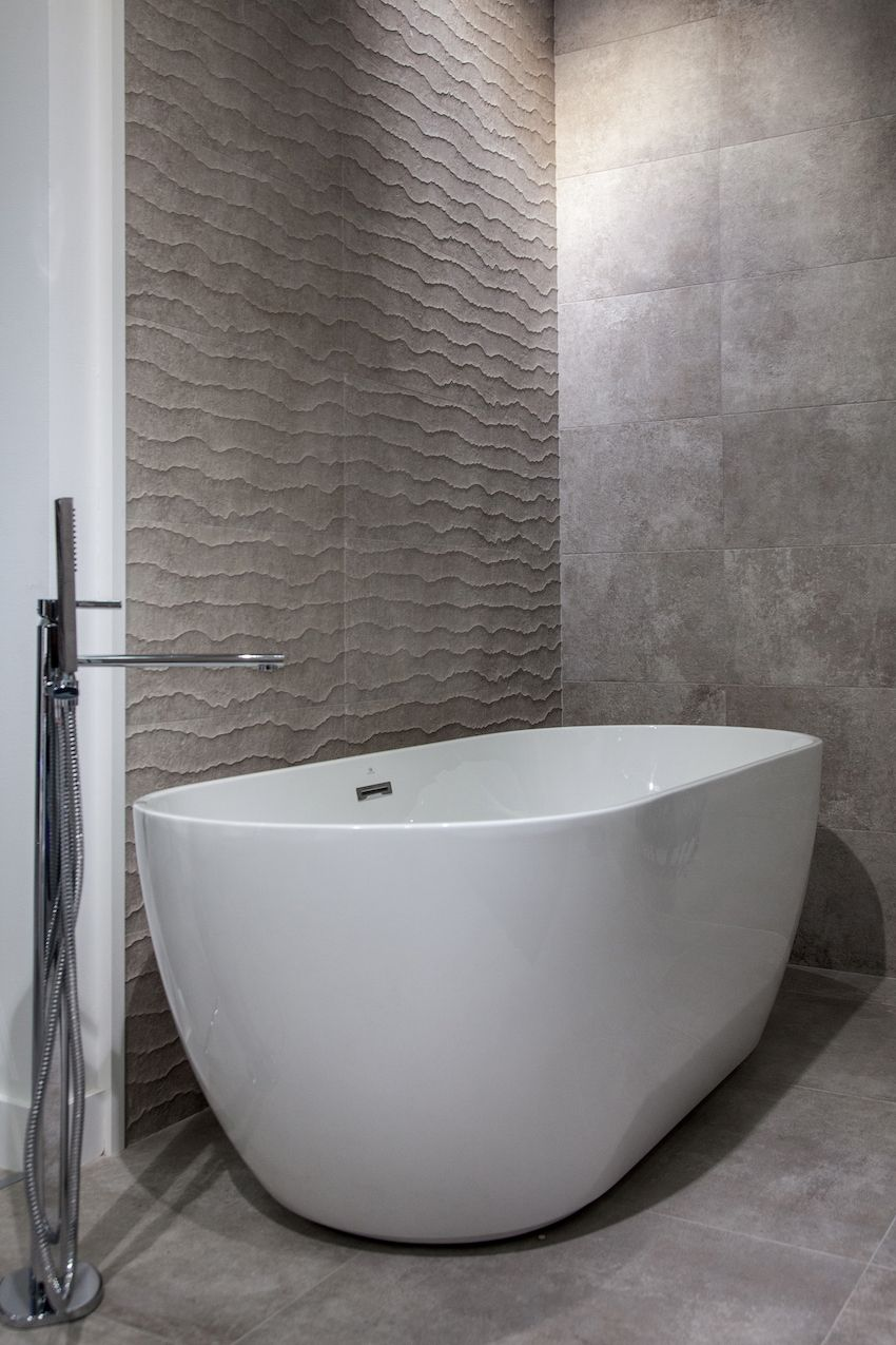 Today's modern soaking tuns are deeper and can offer a more relaxing bathing experience.