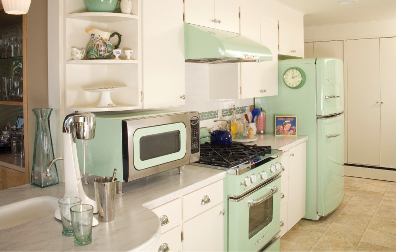 Mint Kitchen Color Scheme
