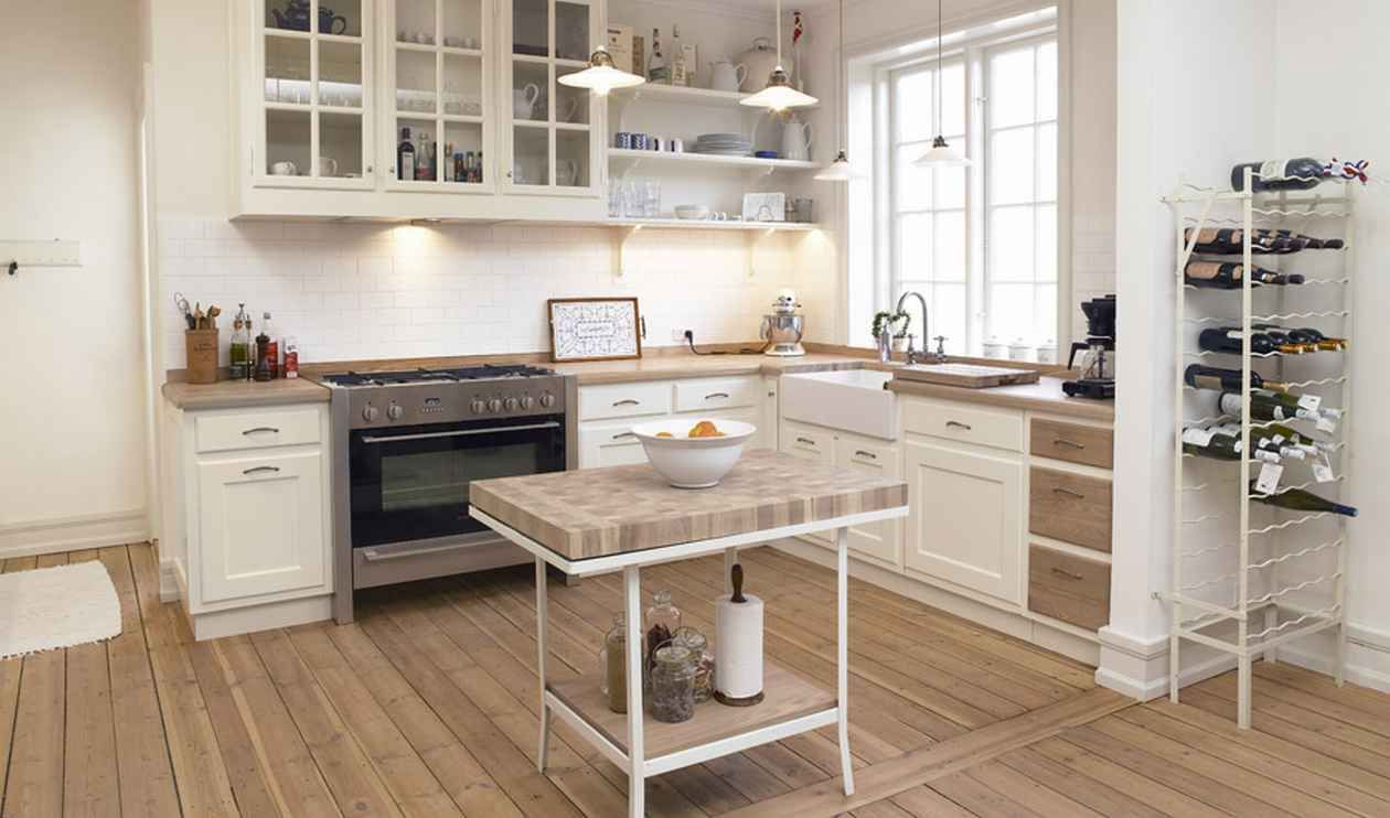 Modern Style Kitchen how to blend modern and country styles within your home's decor